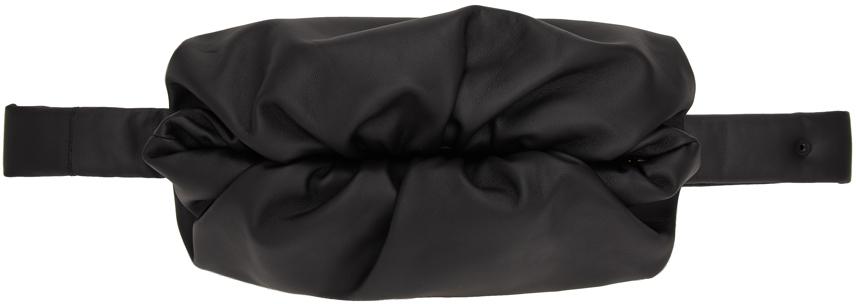 Bottega Veneta Black 'The Body Pouch' Messenger Bag
