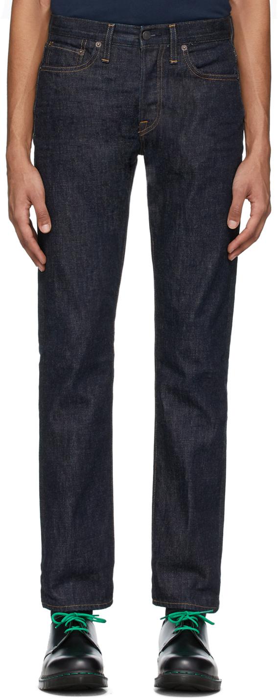 Re/Done Indigo Slim-Fit Jeans