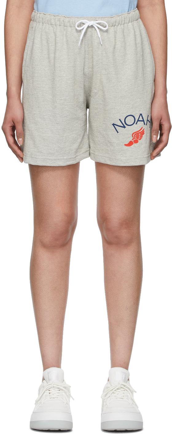 Noah Grey Rugby Cloth Shorts