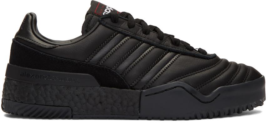 adidas Originals by Alexander Wang Black B-Ball Soccer Sneakers