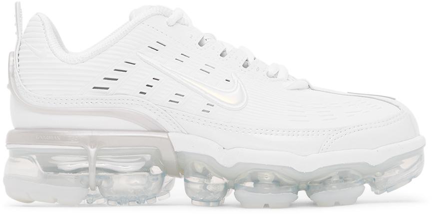 Nike White Vapormax 360 Sneakers
