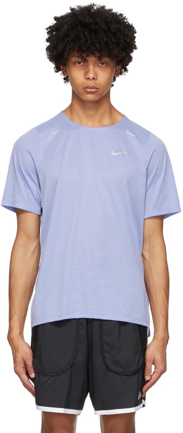 Nike Purple Rise 365 T-Shirt
