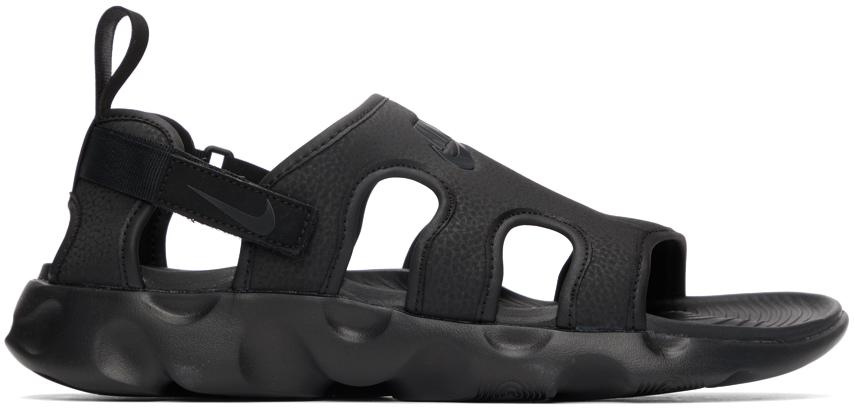 Nike Black Owaysis Sandals