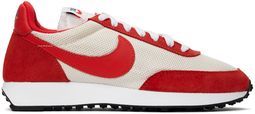 Nike Red & Beige Air Tailwind '79 Sneakers