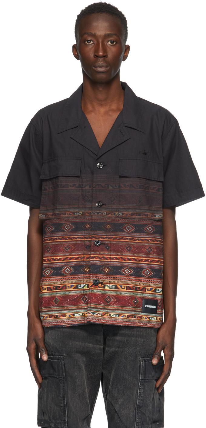 Neighborhood Black Mil Ve Short Sleeve Shirt