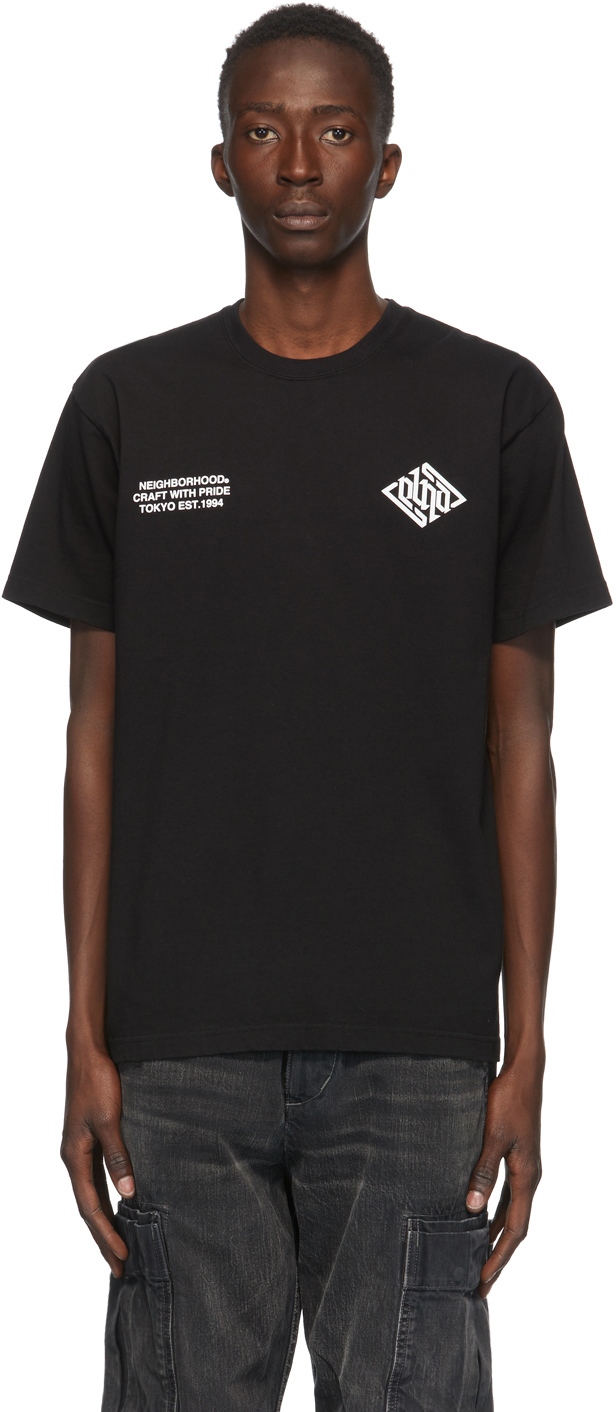 Neighborhood Black Crypt T-Shirt