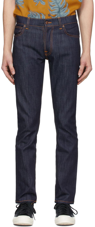 Nudie Jeans Indigo Thin Finn Dry Jeans