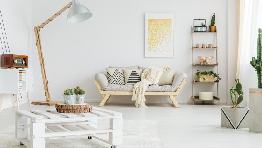 des meubles en palettes de bois