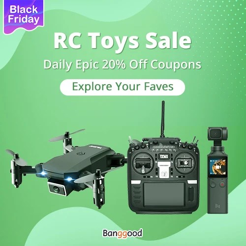 Black Friday RC Toys Sale Daily Epic 20% Off Coupons