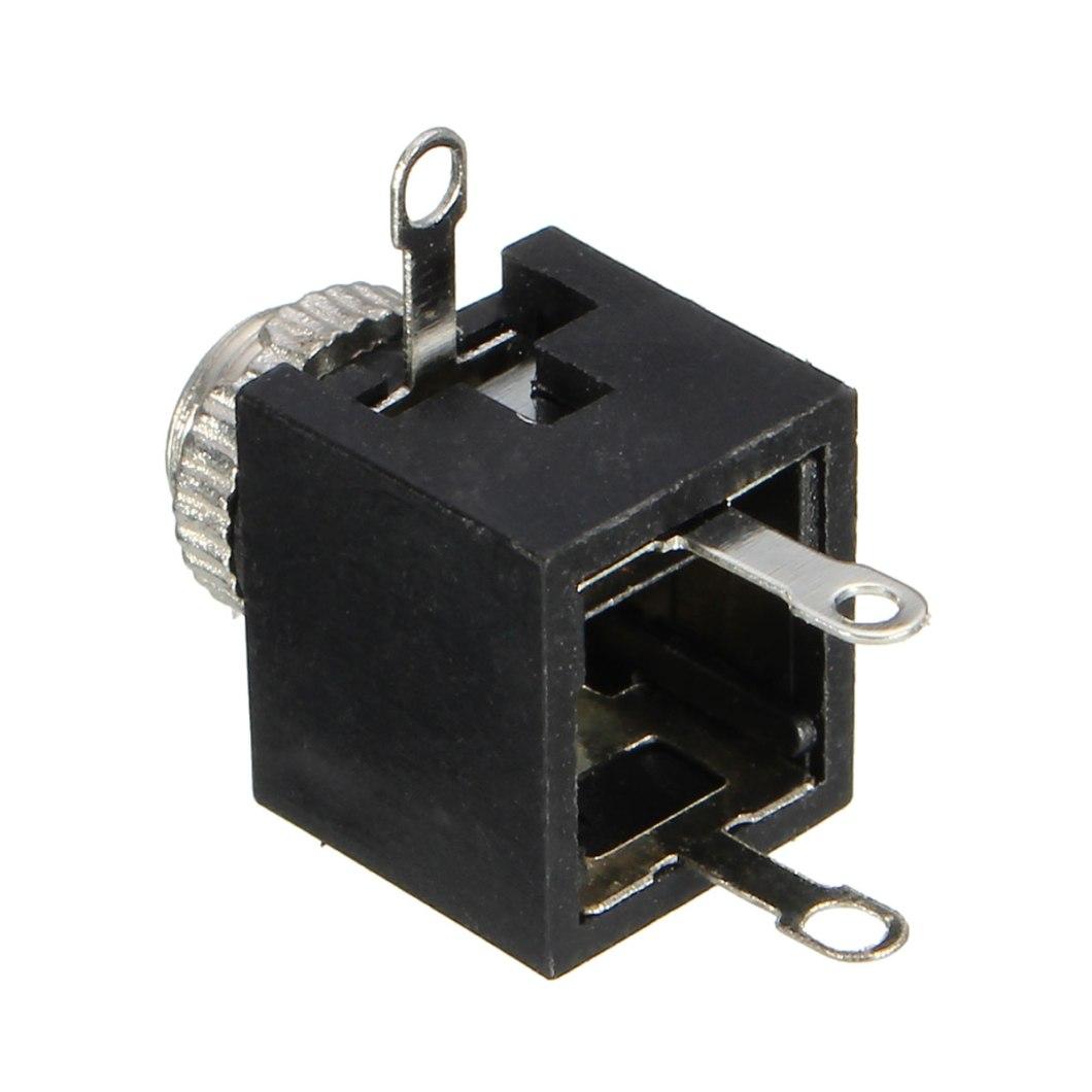 150pcs PCB Panel Mount 3.5mm Female Earphone Socket Jack Connector 23