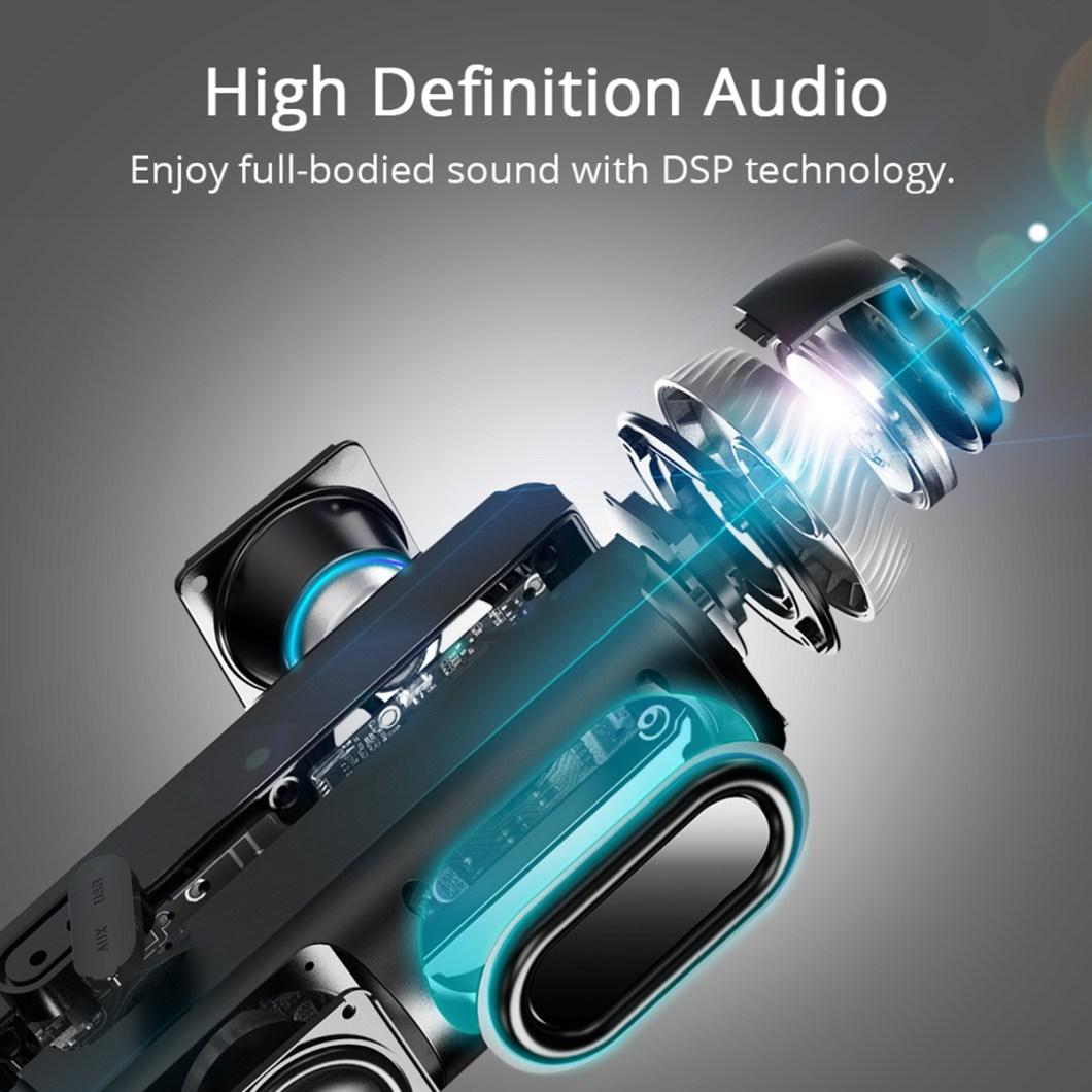 Tronsmart Element T6 Portable Wireless Bluetooth Speaker 5200mAh Stereo Outdoors Speaker 9