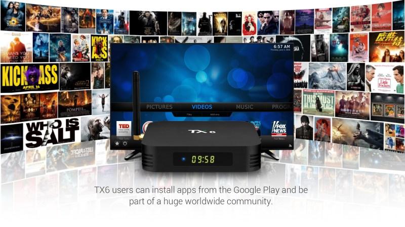 Tanix TX6 Allwinner H6 4GB RAM 64GB ROM 5G WIFI Bluetooth 4 1 Android 9 0  4K USB 3 0 TV Box