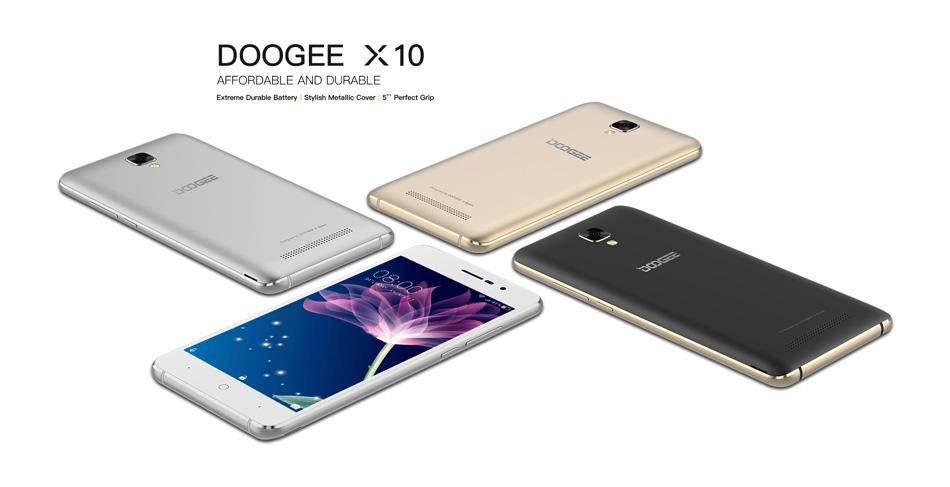 Original DOOGEE X10 5.0