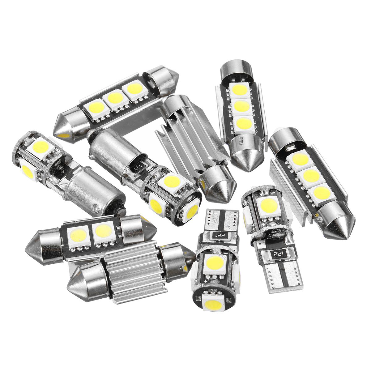 New 12v White Car Interior Led Lamp Replacement Bulb
