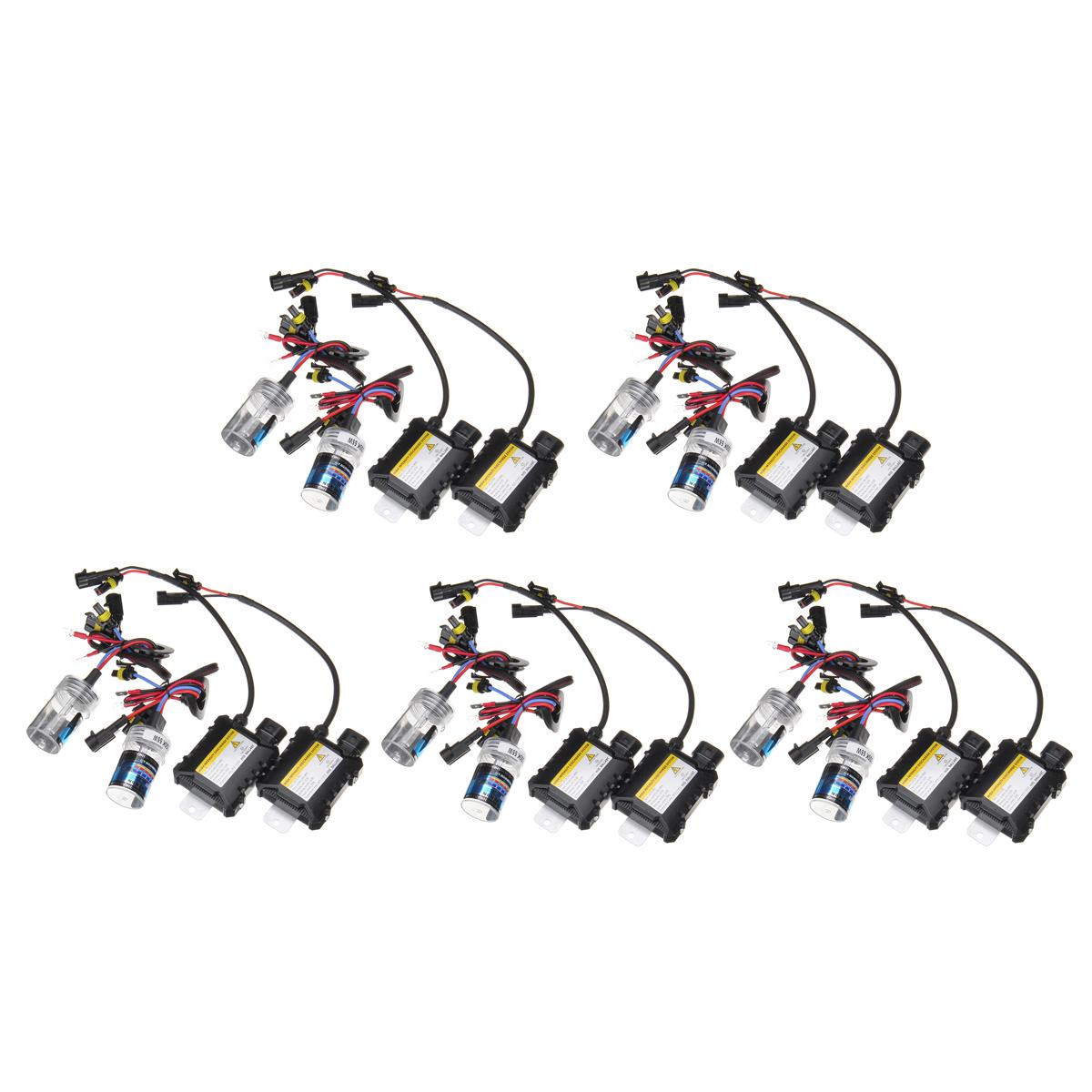 Pair H7 55w Hid Xenon Car Headlights Fog Lamps Bulbs