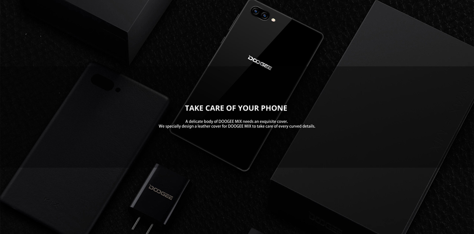 DOOGEE MIX 5.5 Inch Android 7.0 4GB RAM 64GB ROM Helio P25 Octa-Core 2.5GHz 4G Smartphone