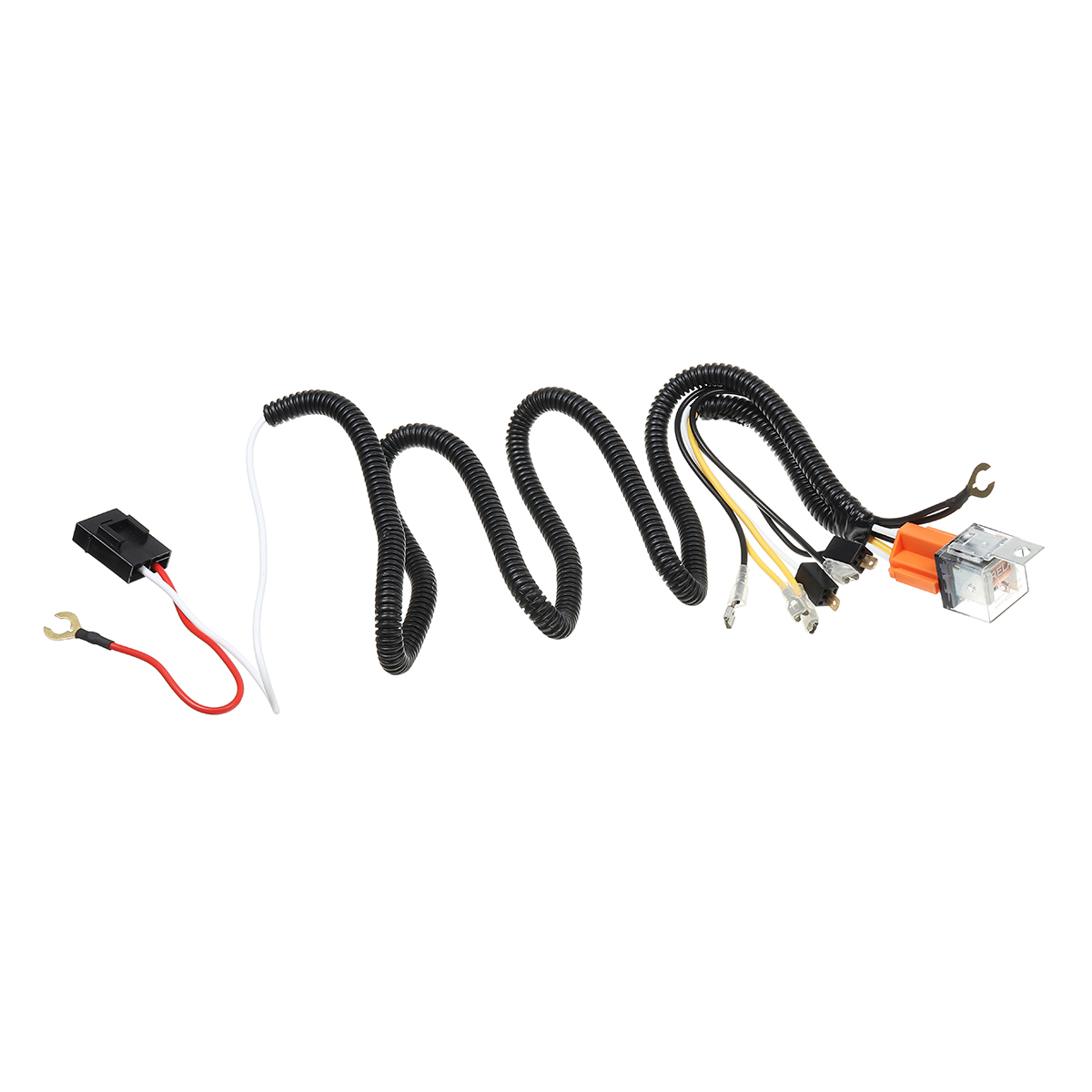12v 40a Horn Wiring Harness Relay Kit For Car Truck Grille
