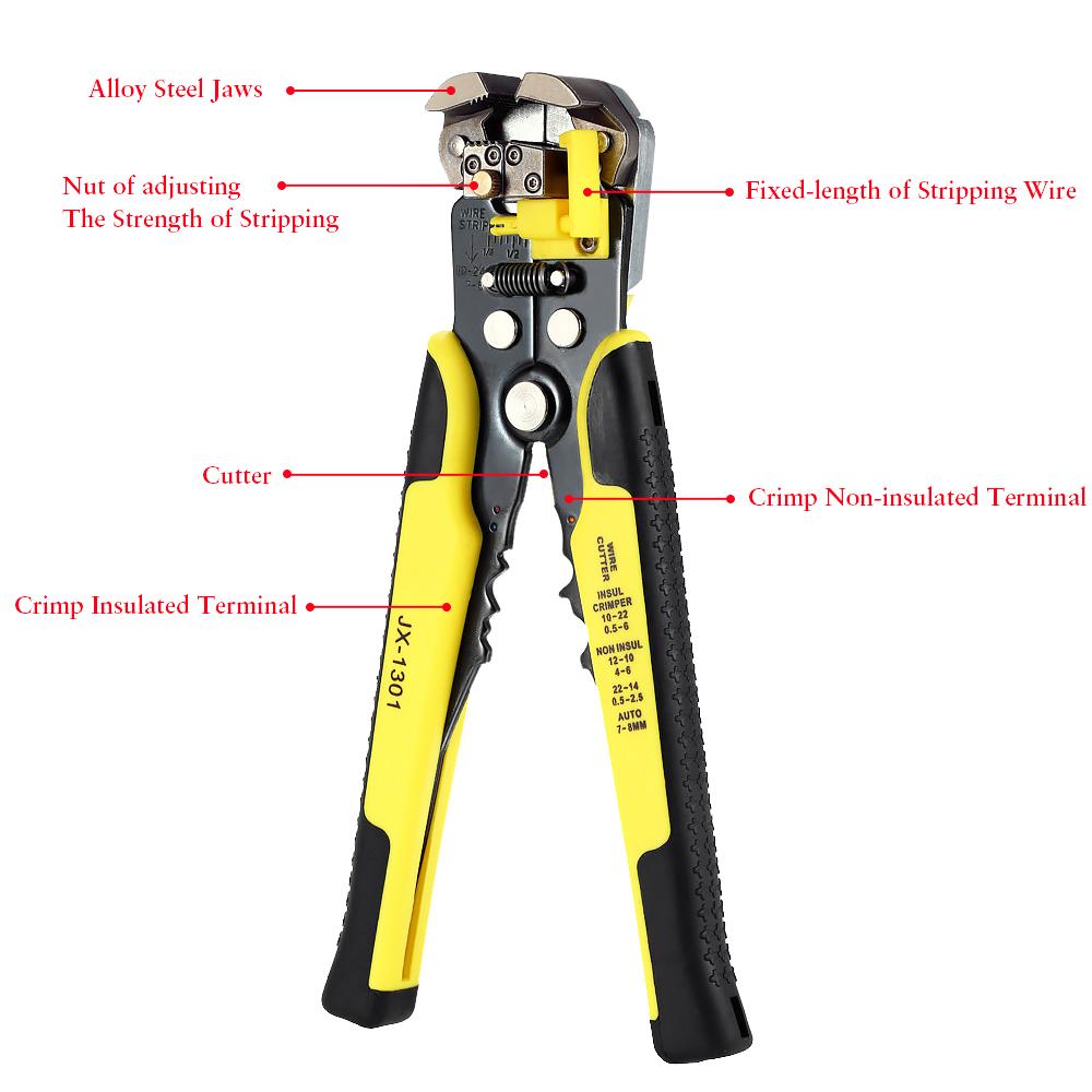 Paron JX-D4301 Multifunctional Ratchet Crimping Tool