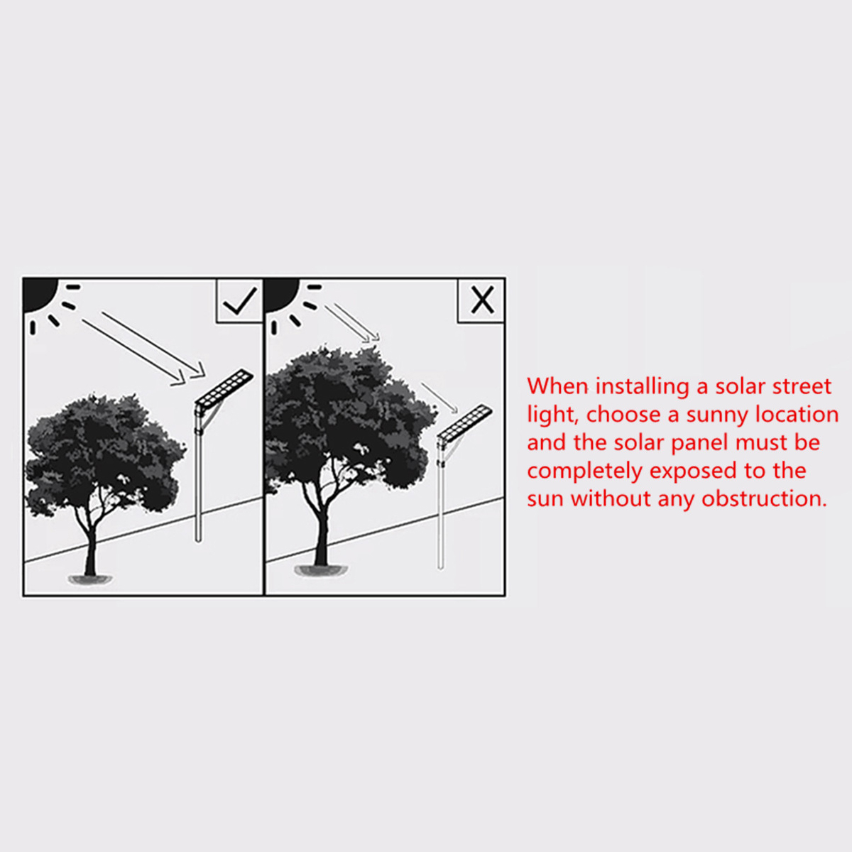40w Led Solar Power Outdoor Wall Street Light Time Switch