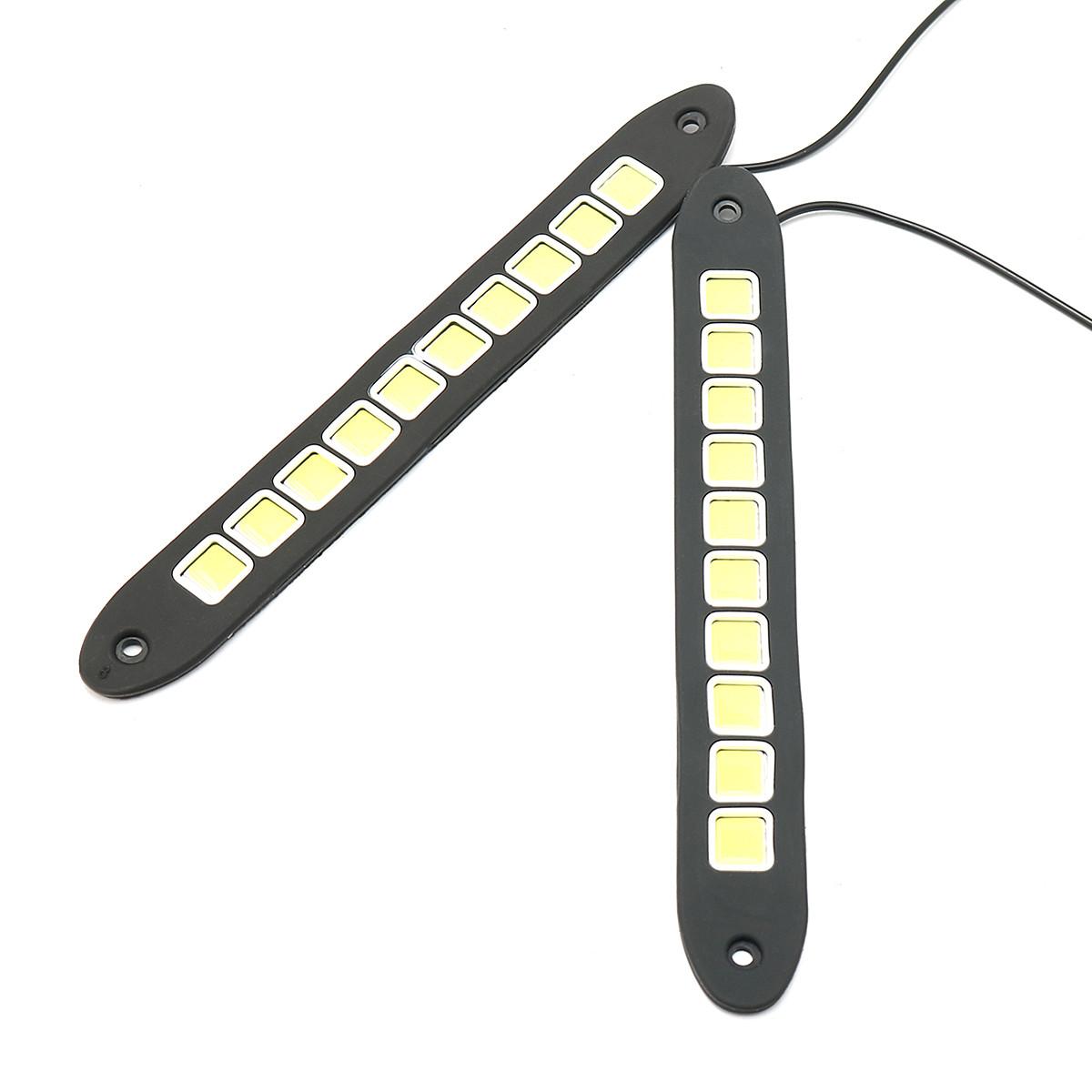 12v Cob 10led Car Daytime Running Lights Side Marker