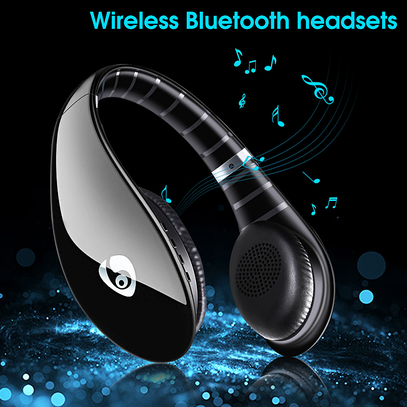 Ovleng S66 On-ear Sport Noise Reduction HiFi Stereo Heavy Bass Bluetooth Headphone With Mic 13