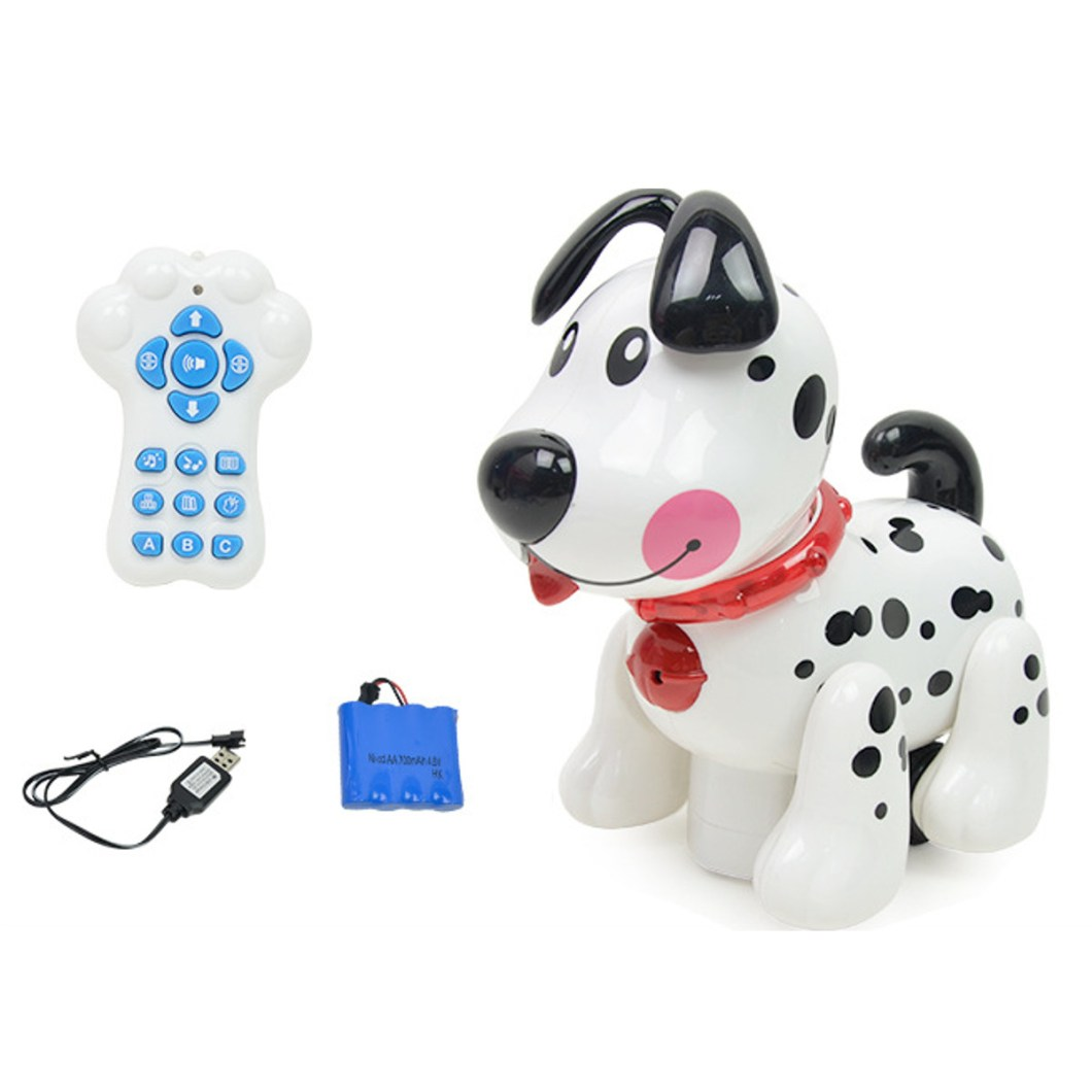 Smart Storytelling Robot Dog Sing Dance Walking Talking Dialogue pet Toy IR RC 40