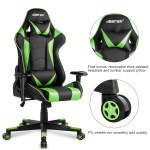 New Merax Office Chair High Back Pu Leather Ergonomic