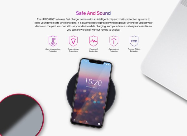 umidigi q1 15w 2.5d charging surface fast wireless charger ...
