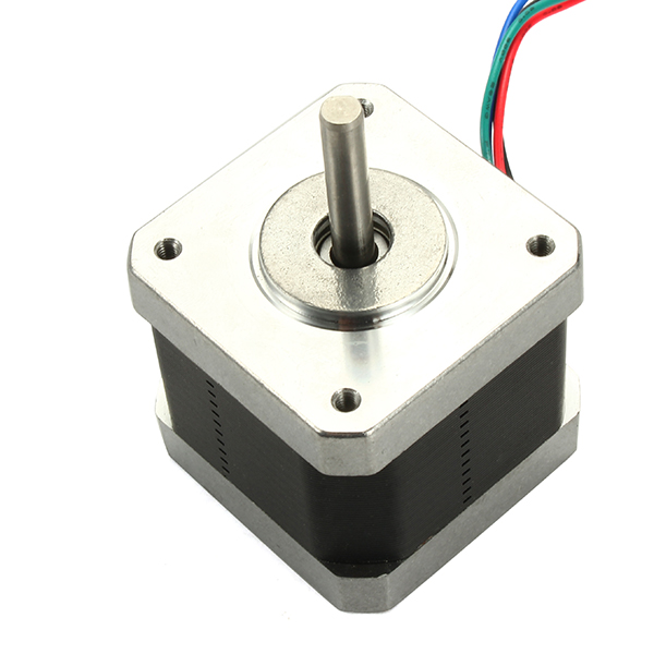 3pcs Nema17 Stepper Motor with Skidproof Shaft Four Wire Two-phase 1.8° For 3D Printer RepRap