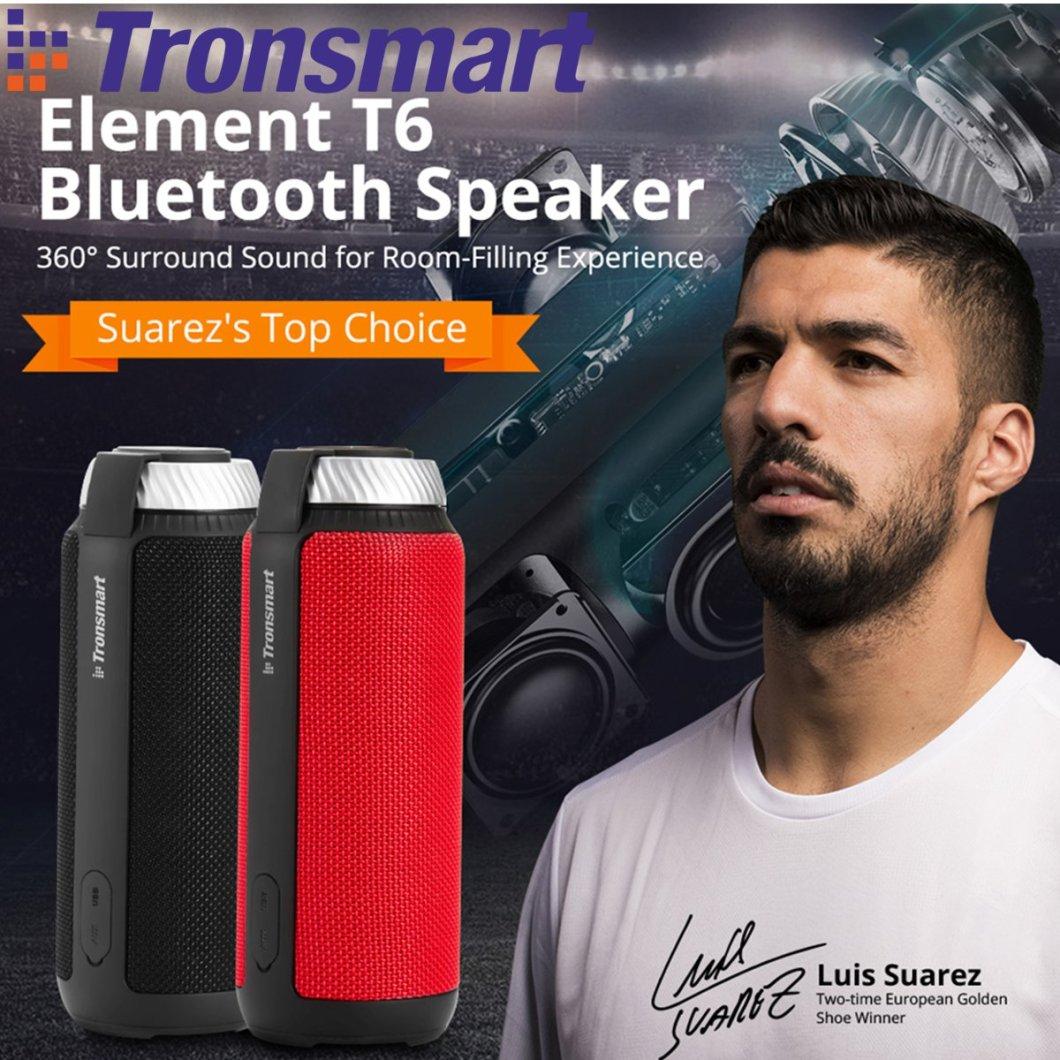 Tronsmart Element T6 Portable Wireless Bluetooth Speaker 5200mAh Stereo Outdoors Speaker 7