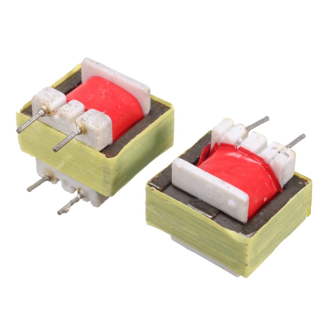 50pcs 1300 : 8 Ohm Audio Transformer EE14 Transformateur Audio POS Transformador 26