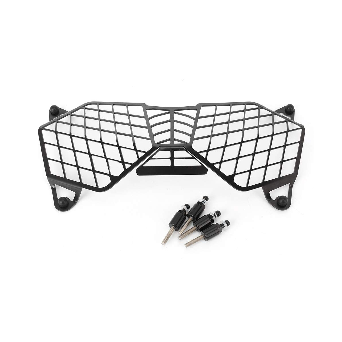 Original Black Motorcycle Headlight Grille Light Cover