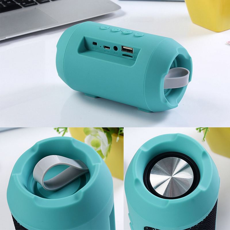 Portable Wireless Bluetooth Speaker TF Card Hands free  Waterproof Outdoors Speaker 14