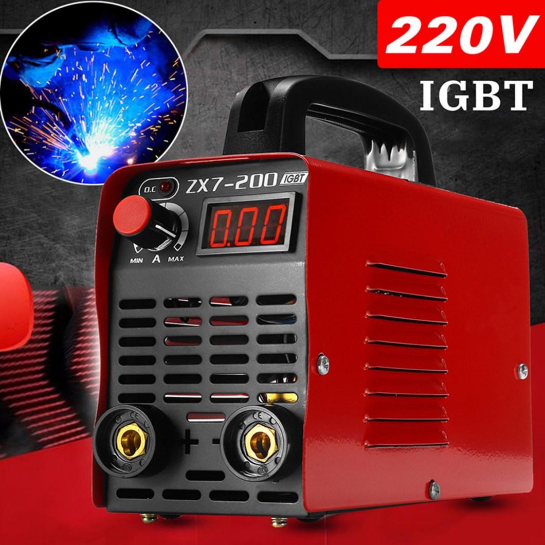 ZX7-200 220V Handheld Mini MMA Electric Welding Tool Digital 20-200A Inverter ARC Welding Machine 31