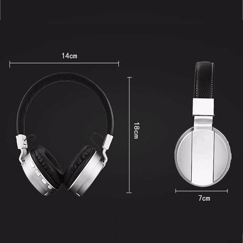 FE-018 Portable Foldable FM Radio 3.5mm NFC Bluetooth Headphone Headset with Mic for Mobile Phone 10