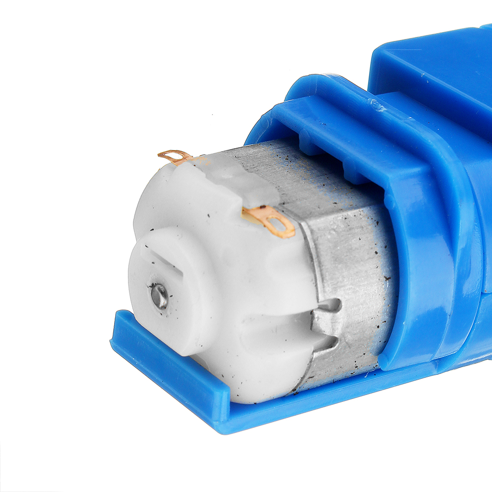 1:28 Transparent/Blue/Orange Hexagonal Axis 130 Motor Gearbox for DIY Chassis Car Model 21