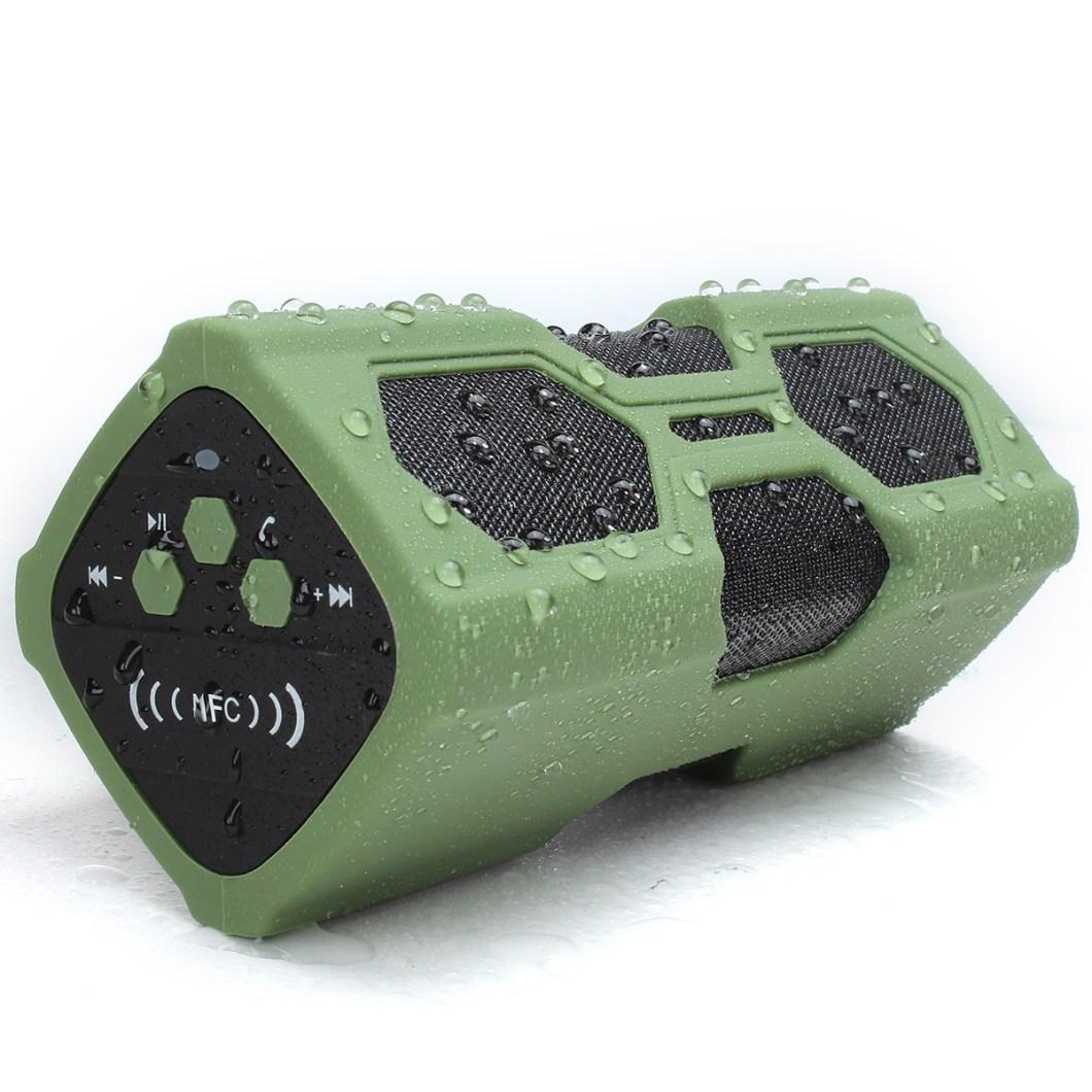 Elegiant IPX4 Waterproof Shockproof Bluetooth Speaker Portable Bass Subwoofer 11