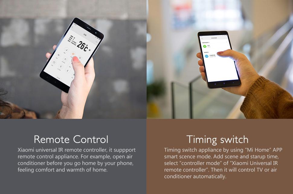 Xiaomi Universal IR Remote Controller APP Remote Timing Control