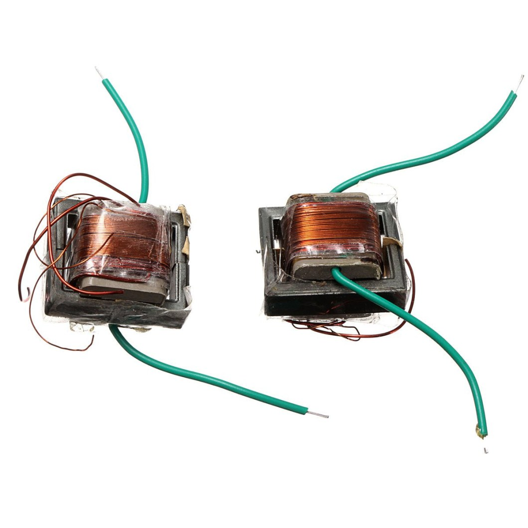 10Pcs 10KV High Frequency High Voltage Transformer Booster Coil Inverter 35