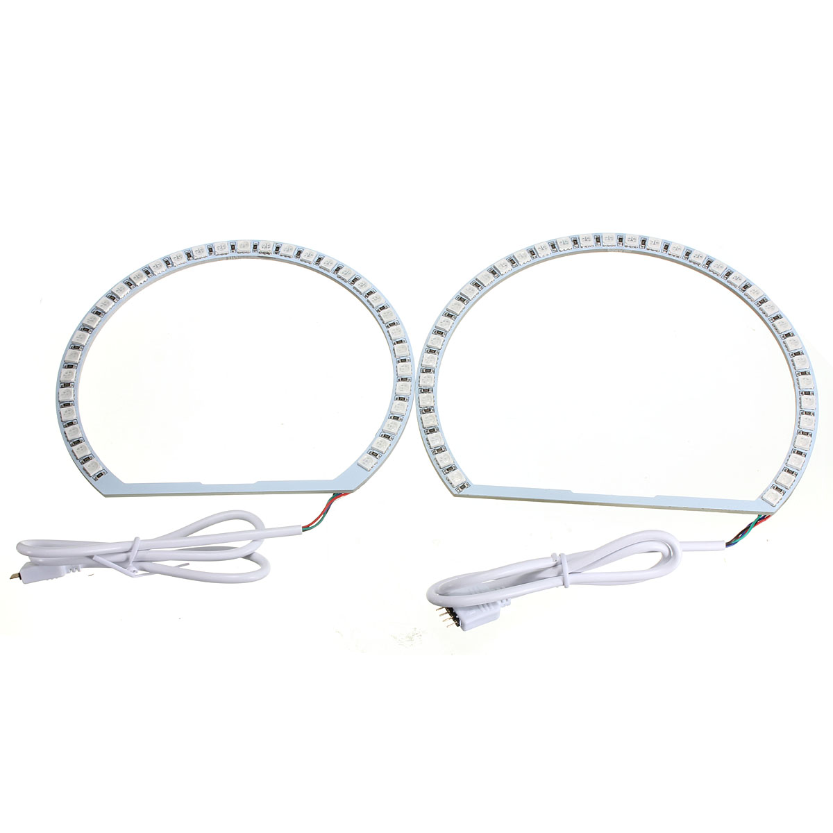 Multi Color Rgb Led Flash Strobe Light Angel Eye Rings For