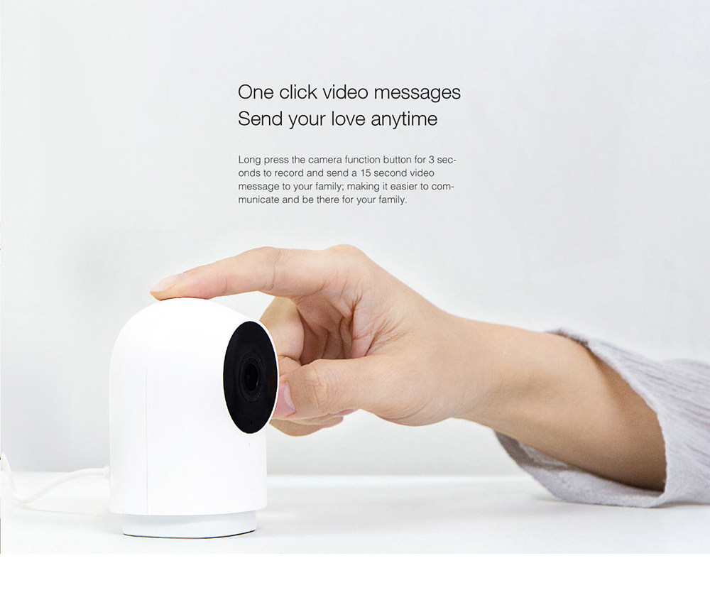 Xiaomi Mijia Aqara G2 With Gateway Function 1080P WIFI Smart IP