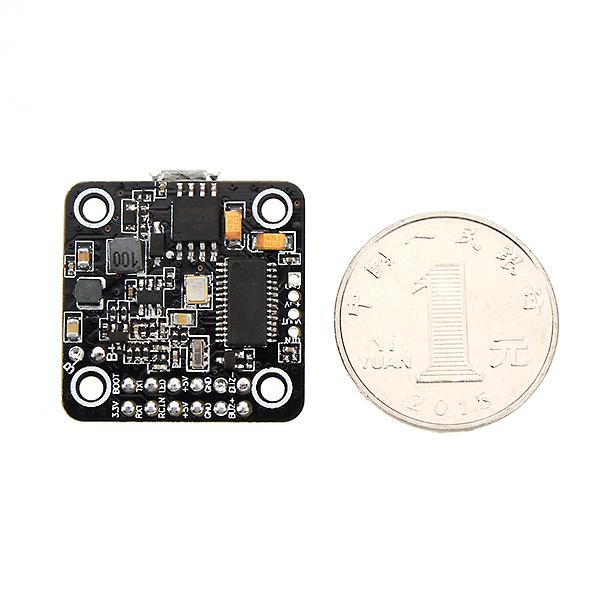 Micro 20x20mm Betaflight Omnibus STM32F4 F4 Brushless Controllore di Volo Integrato con BEC OSD