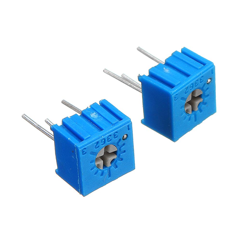 39Pcs 100R-1M Each 1 3362 Potentiometer Package 3362P Adjustable Resistor 31