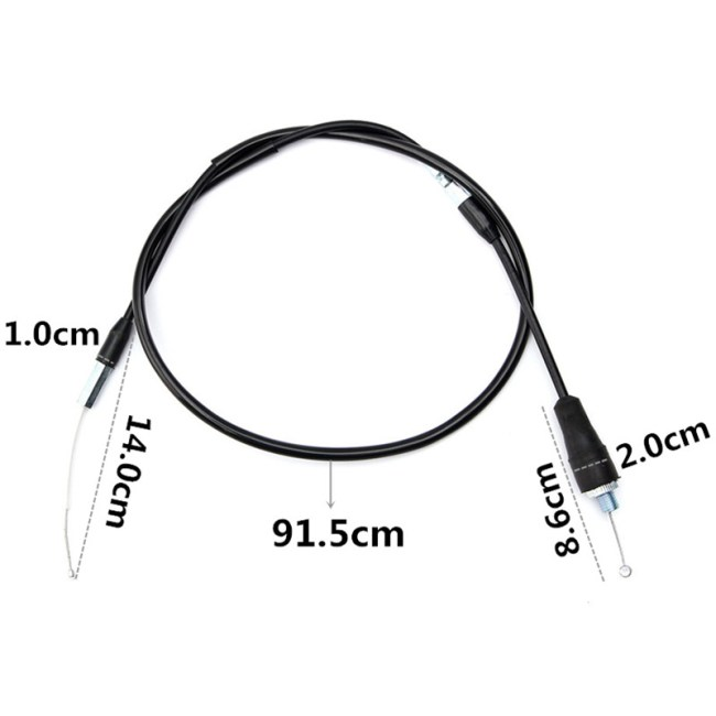 Throttle Cable For Yamaha Bear Tracker 250 Wolverine 350