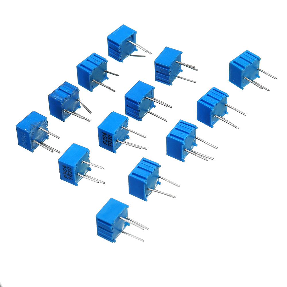 39Pcs 100R-1M Each 1 3362 Potentiometer Package 3362P Adjustable Resistor 26