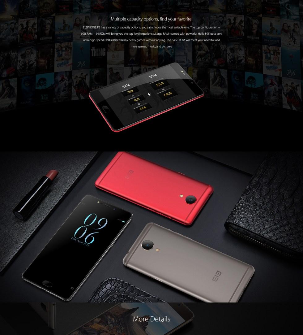 Elephone P8