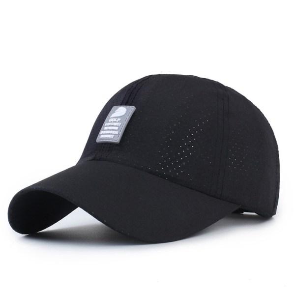 Unisex Men Women Polyester Quick Dry Hole Baseball Cap ...