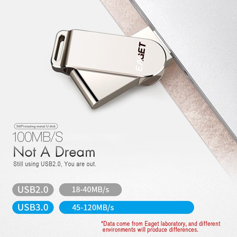 EAGET F60 128G USB 3.0 High Speed USB Flash Drive Pen Drive USB Disk 17
