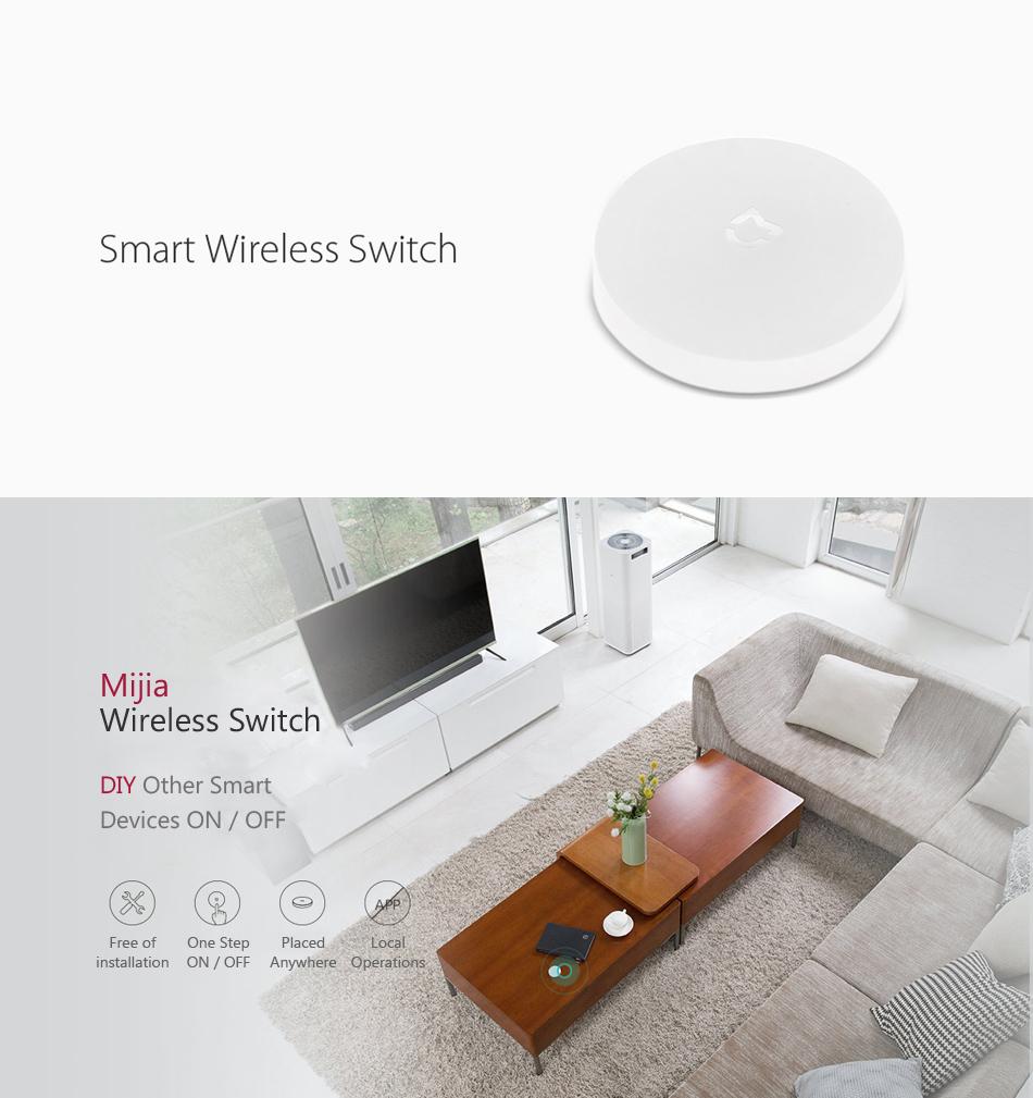 Original Xiaomi Mijia  4 in 1 Nurse Security Smart Home Kit Alarm System with Wireless Switch Window Door Sensor Multifunctional Gateway