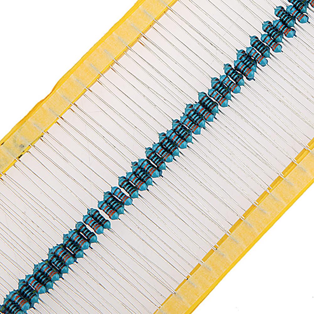 8000pcs Metal Film Resistor Assortment Kit Set 20 Kinds Value 34